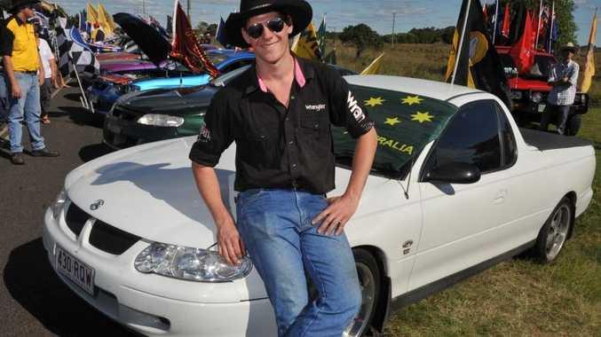 A memorial service has been held in Biloela for Ryan Muller. His funeral will be held in Rockhampton on Wednesday.