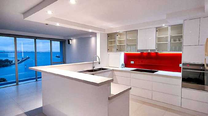 The renovated kitchen with its clever soft-touch doors is the room Stephen is most proud of.
