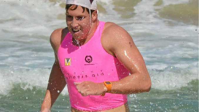 Open men's winner Mitch Miller.