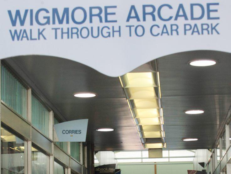 Wigmore Arcade . Photo Blainey Woodham / The Northern Star