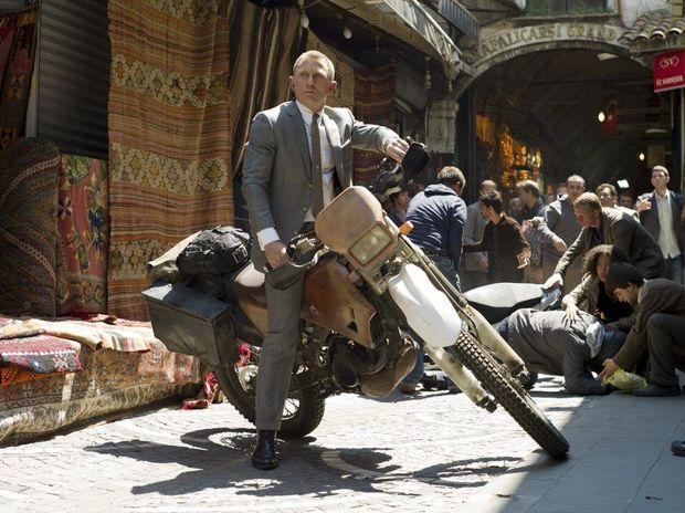 Daniel Craig in a scene from the movie Skyfall.