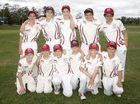 Junior Cricket; Under 14: Central Maroons versus Central Whites.