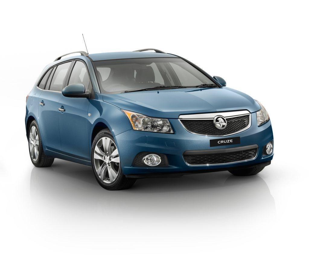 Holden's new Cruze Sportwagon will soon reach showrooms.
