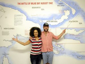 Stars hit Toowoomba to promote South Pacific