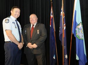 Toowoomba police officers' bravery rewarded