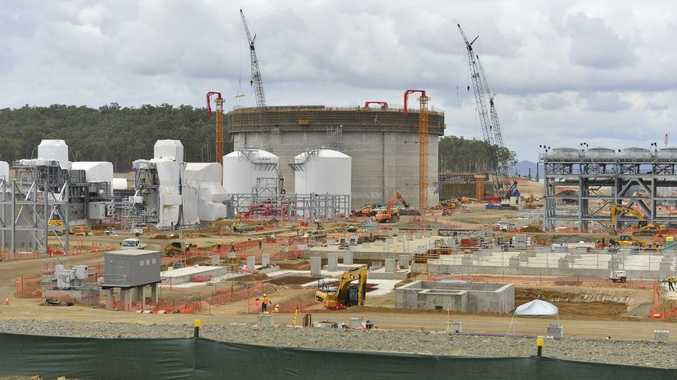 Cost blowouts have added to the cost on LNG projects in Gladstone.