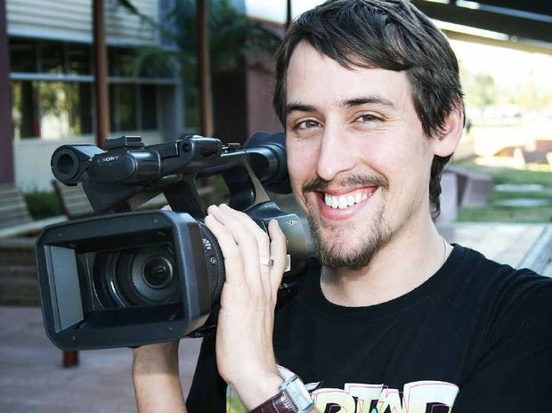 PUBLIC EYE: USQ Bachelor of Applied Media student Ryan Butler has achieved national recognition for Magica.