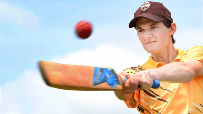 DEFINING INNINGS: Brent Potbury scored 167 for Ipswich Logan in second grade at the weekend.