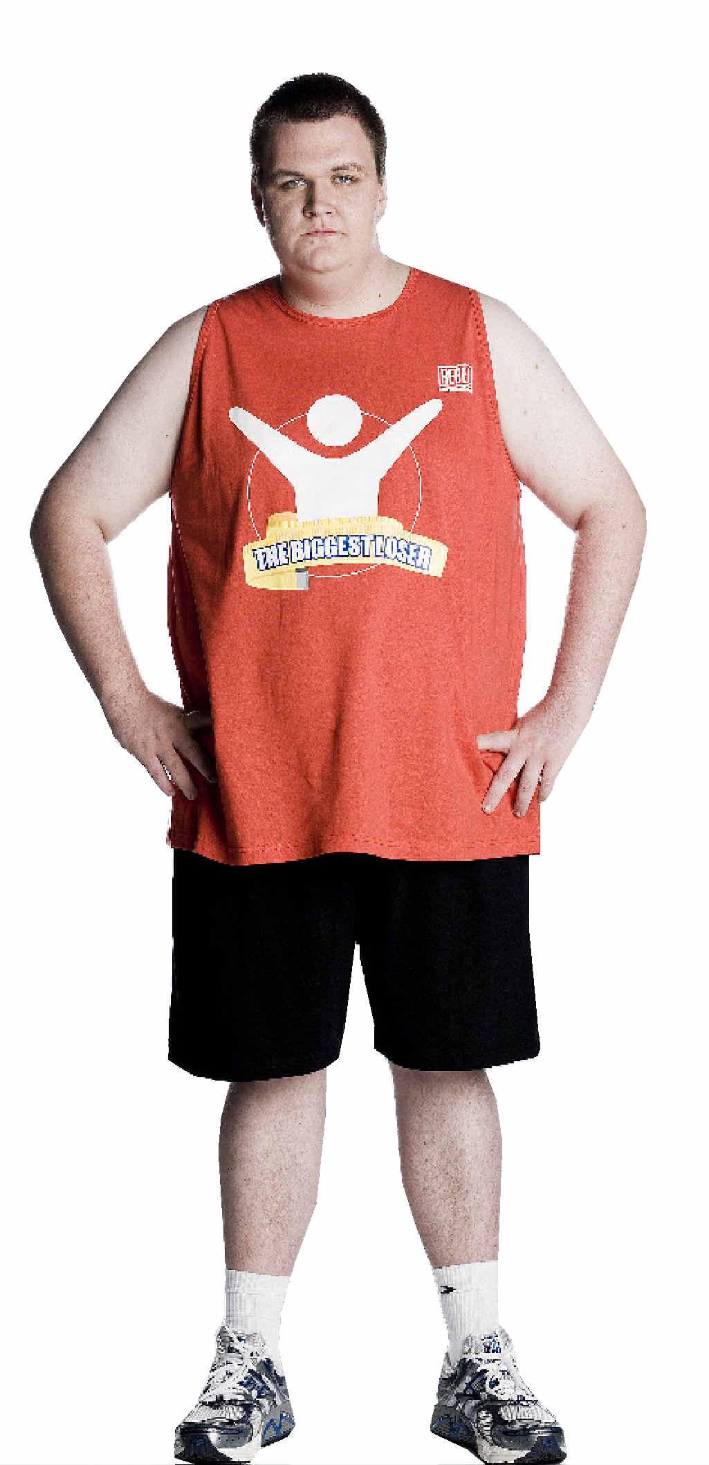 Goonellabah former Biggest Loser contestant Nathaniel Challenor.