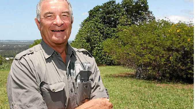 MANY MEMORIES: Bob Burnett, the grandson of the original owner of the land at Burnett St, Buderim.