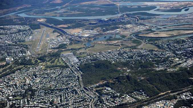 Aerial View of Gladstone.