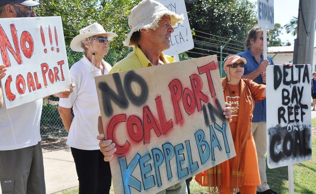 Coal port protesters will welcome the Glencore-Xstrata decision.