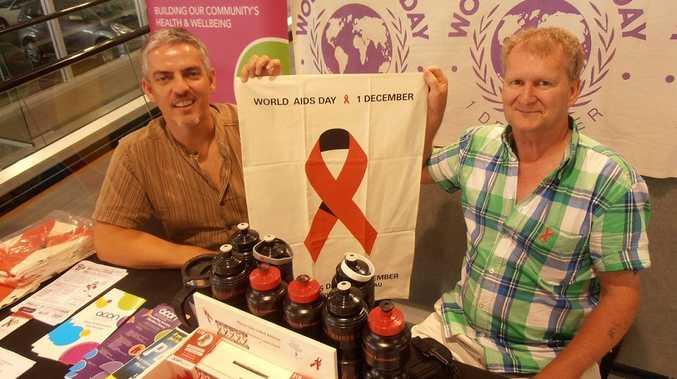 Geoff Webb (left) and Richard Faithfull