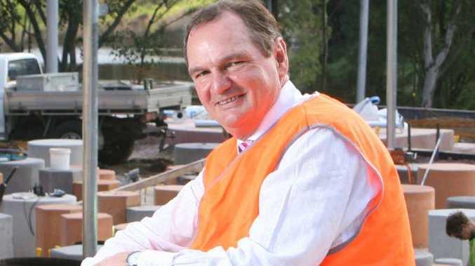TALK TO ME: Ipswich mayor and NGAA chairman Paul Pisasale.