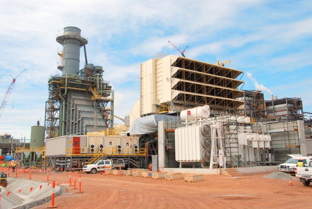 Rio Tinto Alcan Yarwun's new cogeneration facility in Gladstone.