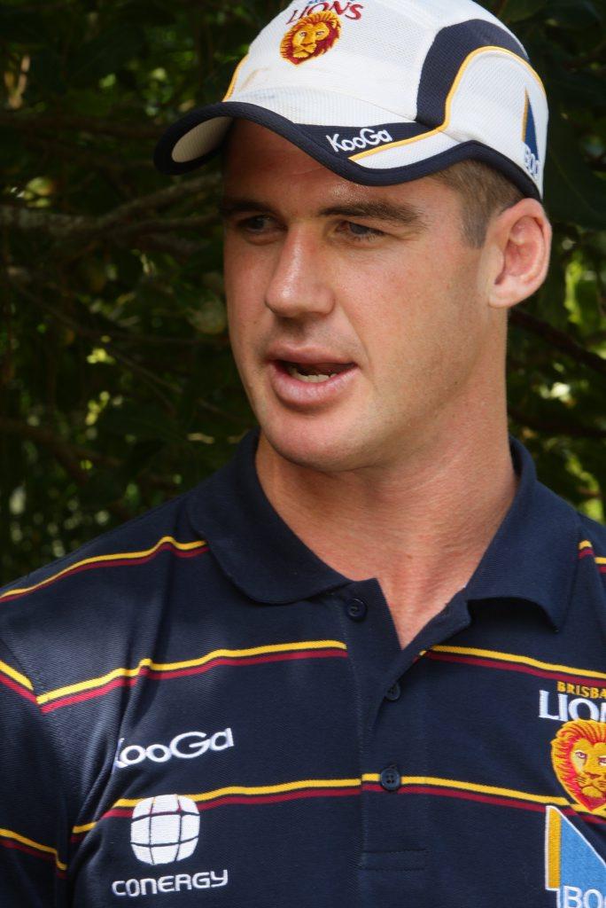 Brisbane Lions captain Jonathan Brown.