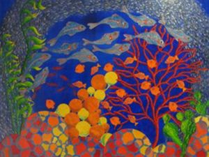 Bright, fun Hervey Bay art exhibition a 'tribute to Pat'