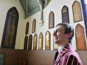Jarred makes honour board as Grammar captain