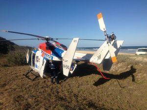 Miracle as two walk from Rainbow Beach crashed plane