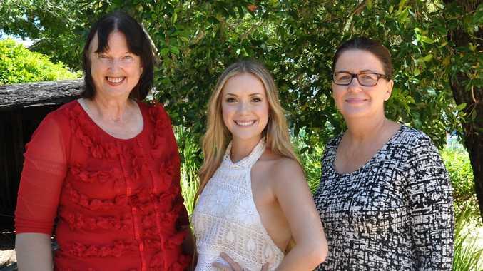 Sunshine Coast Cr  Jenny McKay, Kelsie Rimmer and SCDL Marketing and Brand Director Veronica Rainbird