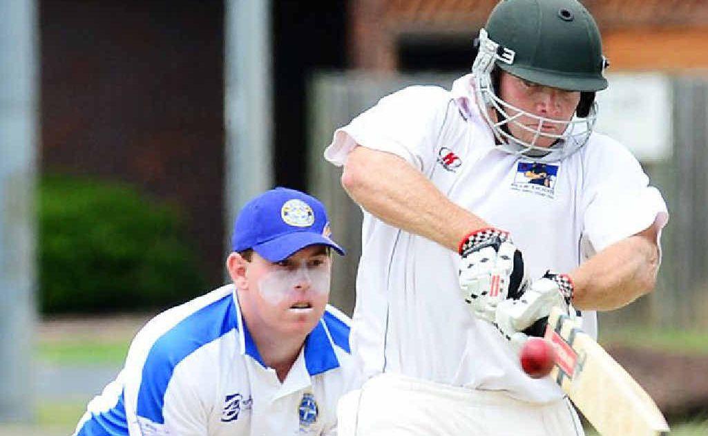 RUN MACHINE: Laidley batsman Mick Sippel sets the benchmark for regional run-scoring consistency.