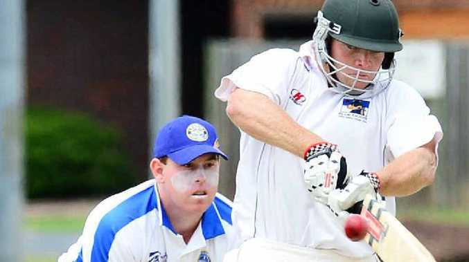 RUN MACHINE: Laidley batsman Mick Sippel sets the benchmark for regional run-scoring consistency.
