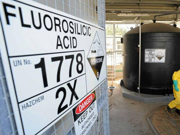 Fluoride was introduced into Warwick's treated town water supply in mid-2011.