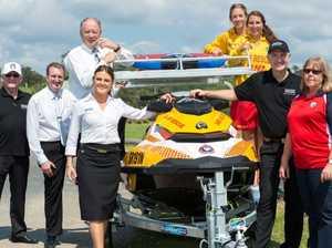Beach patrols boosted by corporate generosity