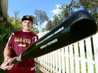 CONFIDENT APPROACH: Ipswich baseballer Andrew Campbell hopes to hit more solid form for the Brisbane Bandits.
