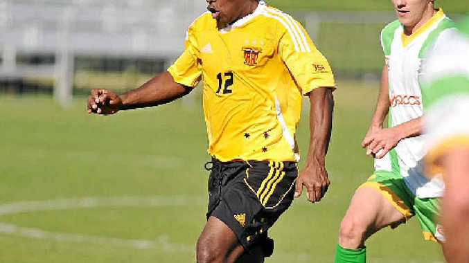 TOUCH OF FLAIR: David Muta appears a certainty to take one of the three spots available for foreign players at the Sunshine Coast Fire next season.