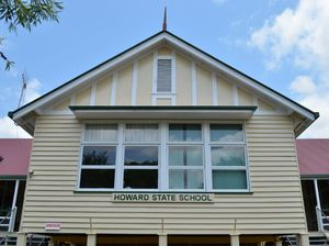 Howard State School's lost property set on fire