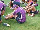 Former Capras Captain Tim Glasby at first training session with Melbourne Storm. Photo: Melbourne Storm via twitter