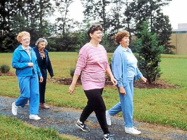 To prevent falls you should keep fit or get moving.