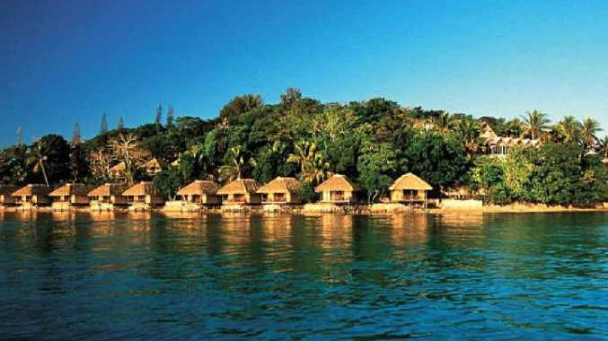 Delightful over-water bungalows with all mod cons.