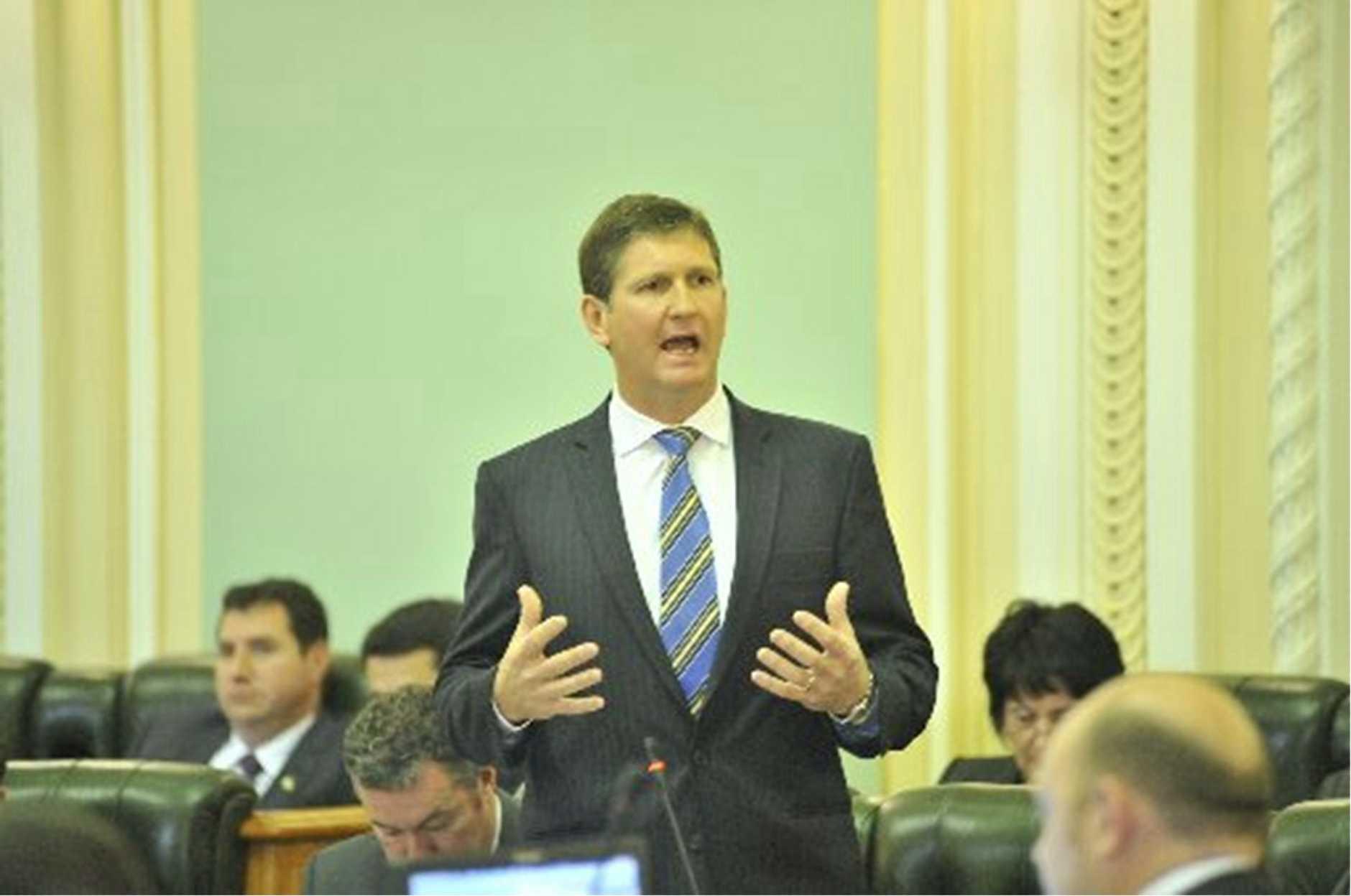 Health Minister Lawrence Springborg.