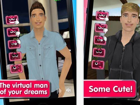 Virtual boyfriend app