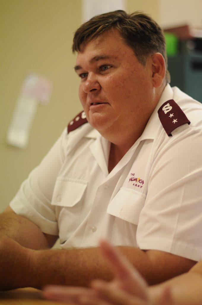 Captain Jeff Bush.