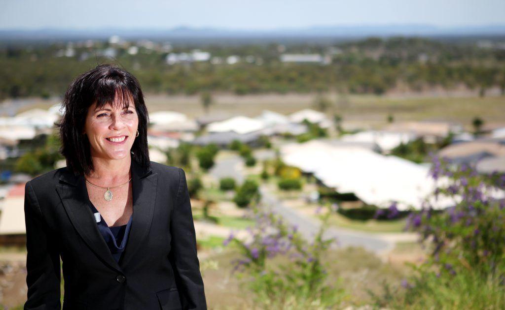 Real estate agent Katrina Schneider. Photo Allan Reinikka / The Morning Bulletin