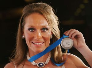 Tennis star Sam Stosur awarded her third Newcombe Medal