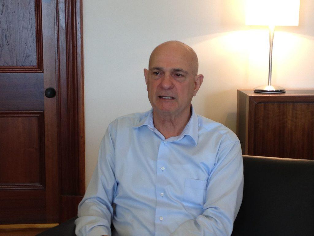 Gladstone Ports Corporation Chief Executive Leo Zussino.