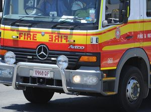Multiple QFRS crews called to vegetation fire at Rules Beach