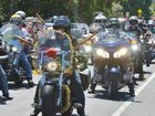 Bikers from far and wide banded together for a Christmas Toy Run.
