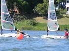 Wind 'booms' with lasers in Clarence Sailing meet