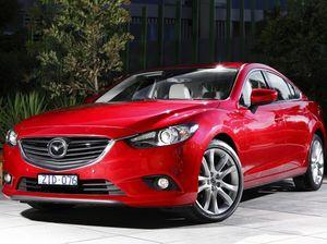 Latest Mazda6 on road test