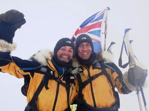 Bone-chilling expedition for adventurous mates
