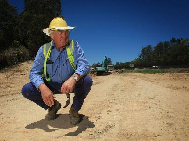 Kirkwood drive upgrade - Jim Rosolen Photo Blainey Woodham / Daily News