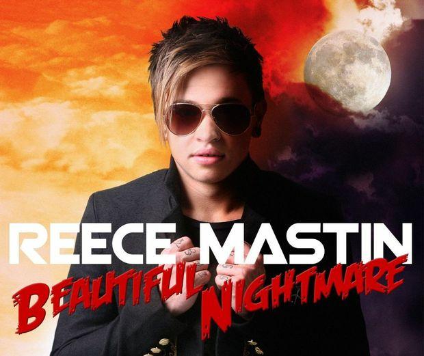 Reece Mastin Beautiful Nightmare album cover. PHOTOGRAPHY JEFF DARMANIN