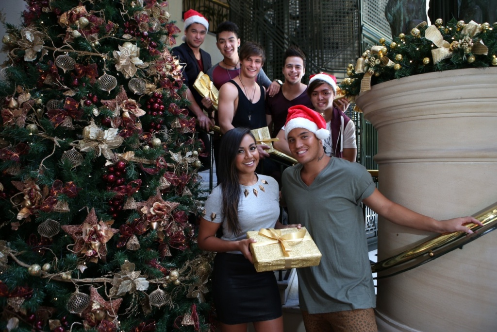 Jessica Mauboy, Stan Walker and The Collective.