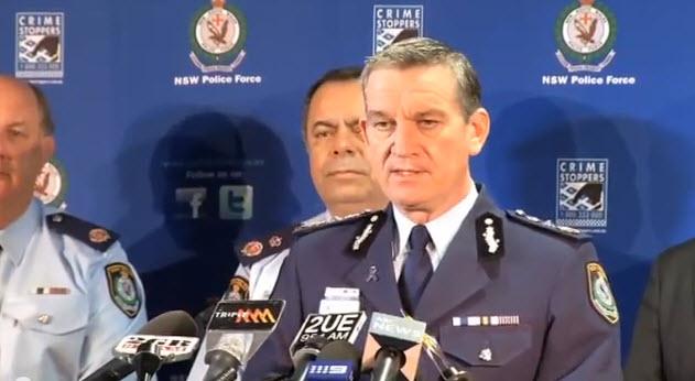 Police Commissioner Andrew Scipione