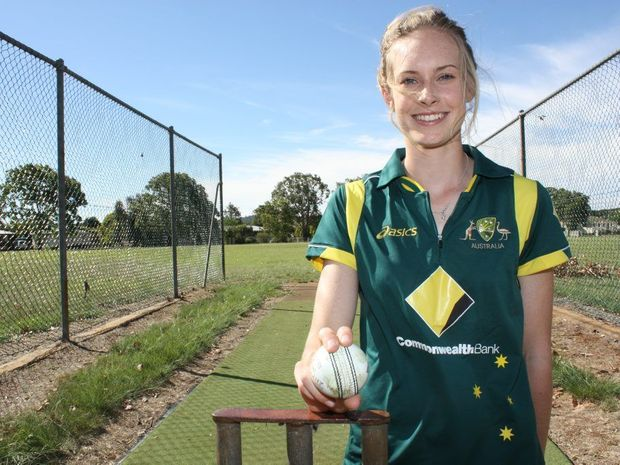 SHOOTING STAR: Kingaroy's Holly Ferling played for Australia's Shooting Stars in their series win against New Zealand's Emerging Players squad.